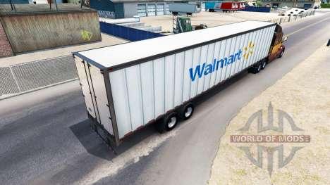 Die WalMart-Semi-Trailer für American Truck Simulator