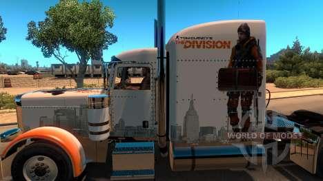Skin The Division for Peterbilt 389 für American Truck Simulator