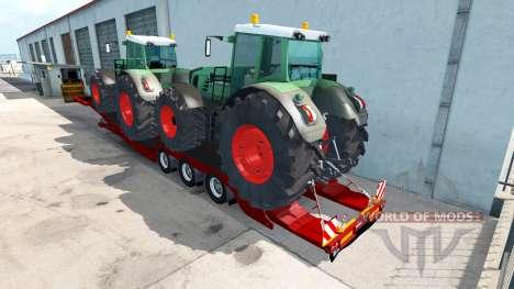 Niedrige sweep-Fendt 936 Vario für American Truck Simulator