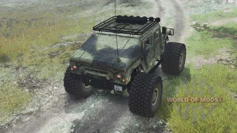 HMMWV M-1025 [03.03.16] für Spin Tires