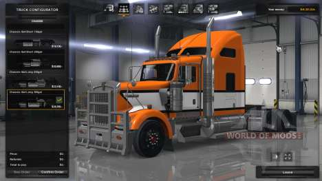 Realistische Physik und Fahrwerk für American Truck Simulator