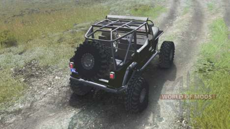 Jeep YJ 1987 [open top][03.03.16] pour Spin Tires