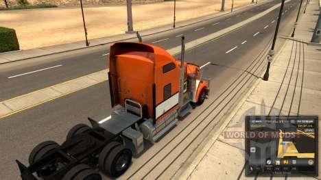 Réaliste de la physique et de la suspension pour American Truck Simulator