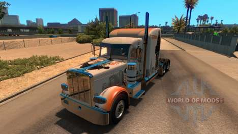 Skin The Division for Peterbilt 389 pour American Truck Simulator