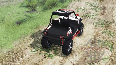 Polaris RZR XP 1000 Turbo [03.03.16] pour Spin Tires