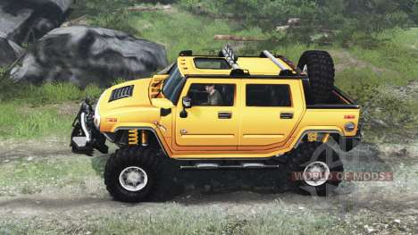 Hummer H2 [03.03.16] pour Spin Tires