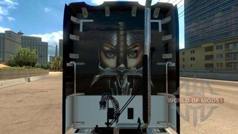 Skin Knights Templar Kenworth T680 pour American Truck Simulator