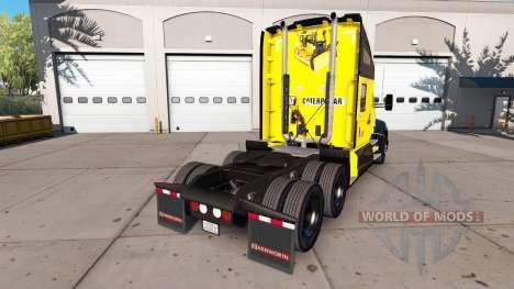 La peau de la Chenille tracteur Kenworth pour American Truck Simulator