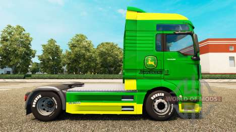 La peau de John Deere pour l'HOMME camions pour Euro Truck Simulator 2