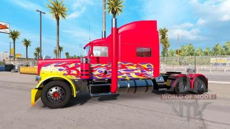Haut Pick-up-truck für den Peterbilt 389 für American Truck Simulator