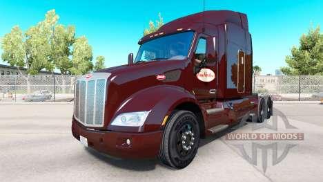 Tim Hortons Haut für Peterbilt und Kenworth truc für American Truck Simulator