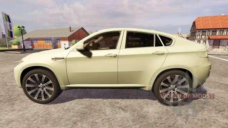 BMW X6 M für Farming Simulator 2013