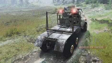 KrAZ-255 camion [03.03.16] pour Spin Tires