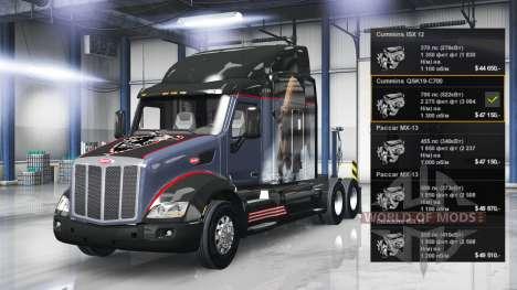 Moteur Cummins QSK19-C700 pour American Truck Simulator