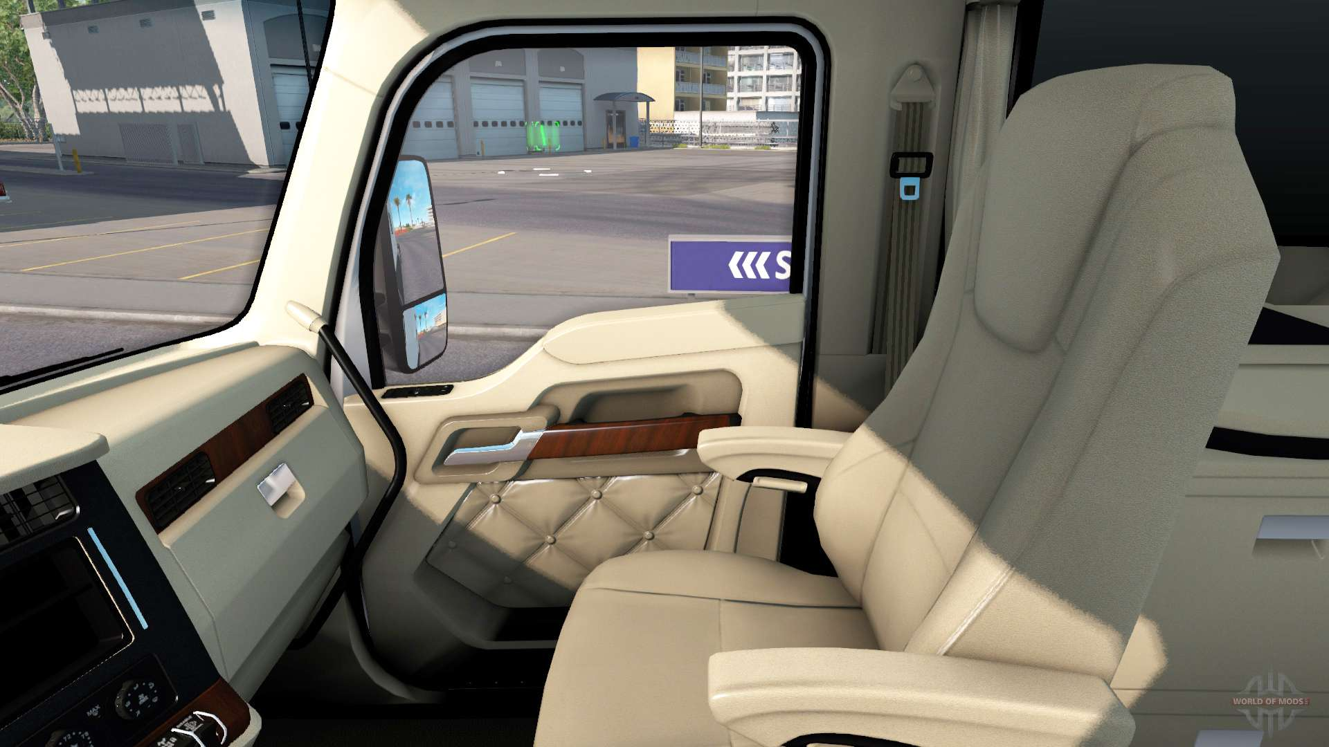 Die Luxus-Interieur in Kenworth T680 für American Truck Simulator