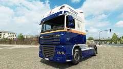 Flensburg Brasserie skin for DAF truck