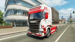 Holland-Stil skin für Scania-LKW