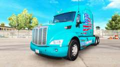 La peau American Truck camion Peterbilt