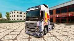 RedBull de la peau pour Volvo camion
