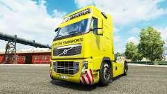 Gertzen Transporte de la peau pour Volvo camion