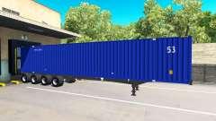 Der Sattelauflieger, Container 53