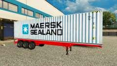 Der Auflieger Maersk Sealand