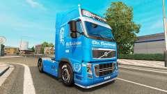 Carstensen de la peau pour Volvo camion