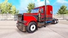 Metallic-skins für den Peterbilt 389 Traktor