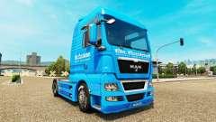 Carstensen de la peau pour l'HOMME de camion