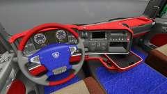 L'intérieur de Scania Leda