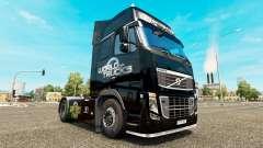 Le Monde des Camions de la peau pour Volvo camio