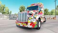 Haut Aufkleber für Peterbilt und Kenworth trucks