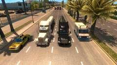 Plus de camions dans le trafic