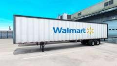 Die WalMart-Semi-Trailer