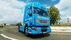 Carstensen de la peau pour Renault camion