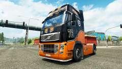 Racing Team skin für Volvo-LKW