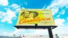 Vintage Werbung auf Plakaten
