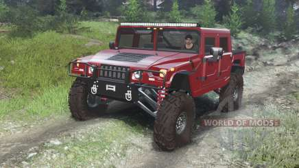Hummer H1 [03.03.16] pour Spin Tires