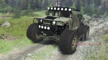 HMMWV M-1025 [03.03.16] pour Spin Tires