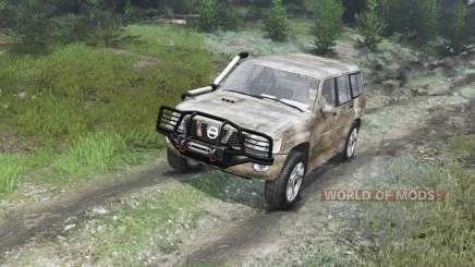 Nissan Patrol 2005 [03.03.16] pour Spin Tires