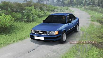 Audi 100 C3 Quattro [03.03.16] pour Spin Tires