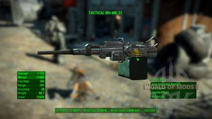 WH-Mk22 Heavy Machinegun pour Fallout 4