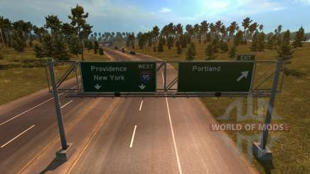 Coast to Coast Map v 1.6 für American Truck Simulator