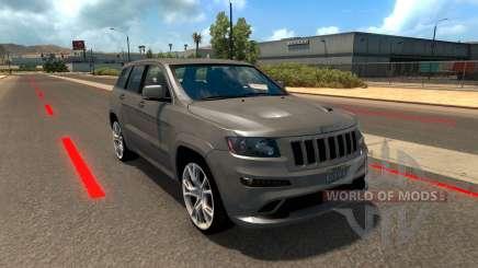 Jeep Grand Cherokee SRT8 für American Truck Simulator