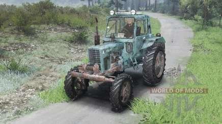 MTZ-82 belarussische [03.03.16] für Spin Tires