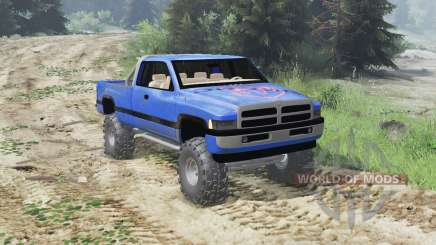 Dodge Ram Ext. Cab 1996 [03.03.16] für Spin Tires