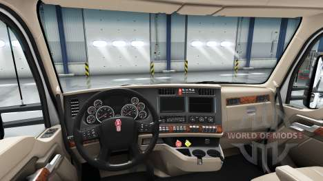 Redessiné l'intérieur de la Kenworth T680 pour American Truck Simulator