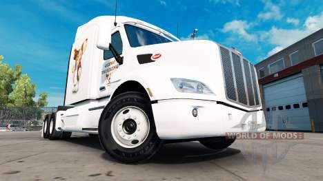 Gizmo skin für den truck Peterbilt für American Truck Simulator