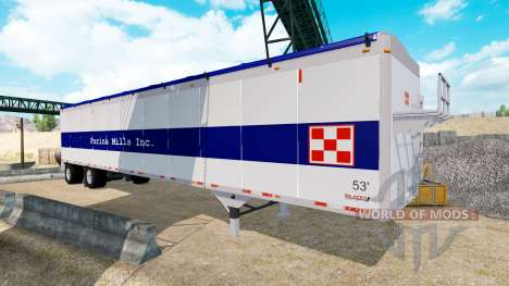 Die Wilkens-Walking-Floor-Auflieger für American Truck Simulator