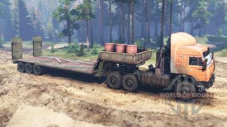 KamAZ-44108 KAMAZ-44118 v01.05.16 pour Spin Tires